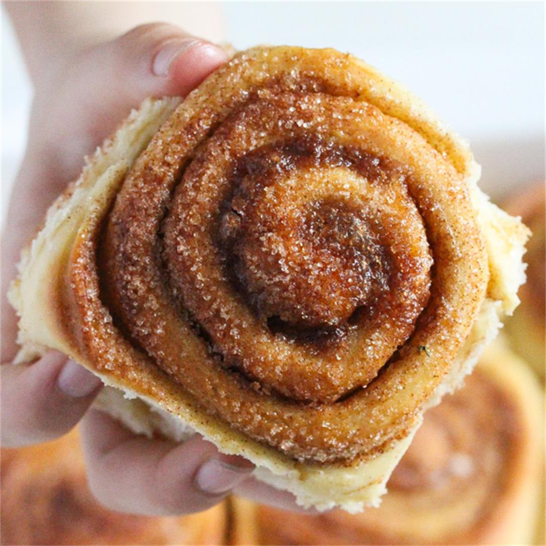Sweet Rolls with Cinnamon Sugar