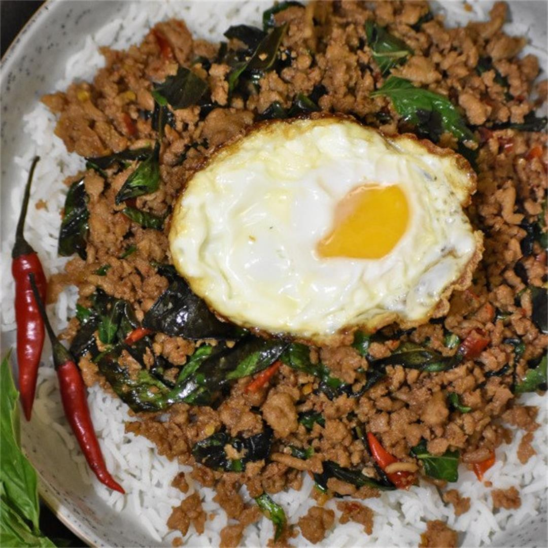 Thai Basil Chicken (Pad Krapow Gai)