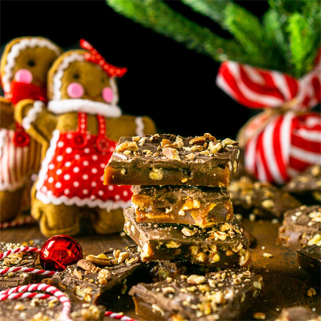 Gingerbread Toffee