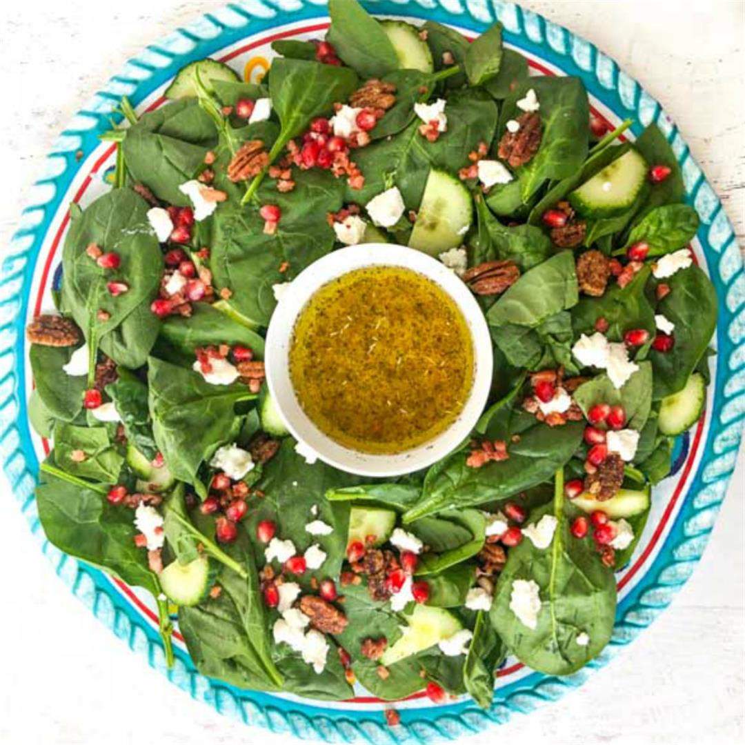 Easy & Festive Low Carb Salad Recipe for the Holidays