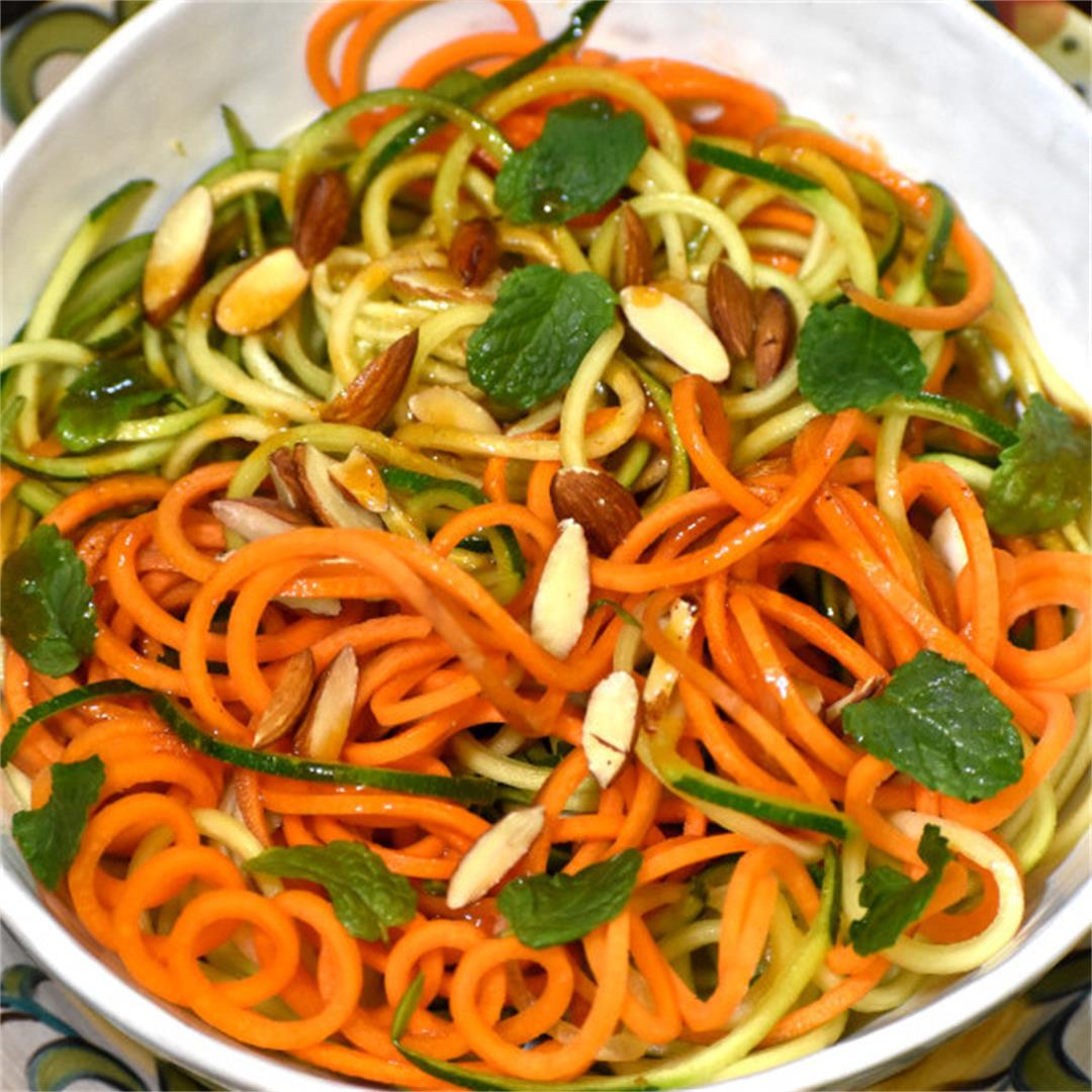 Zucchini Carrot Salad with Catalina Dressing