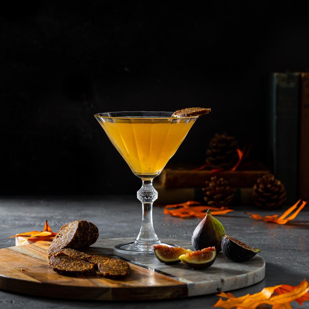 Fig Vodka Martini with vodka and Fig Marmalade