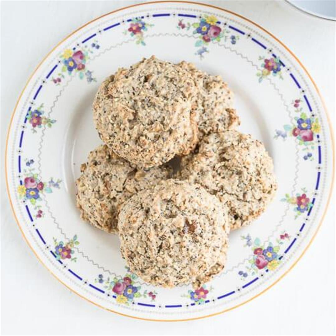 Multigrain Scones with Walnuts