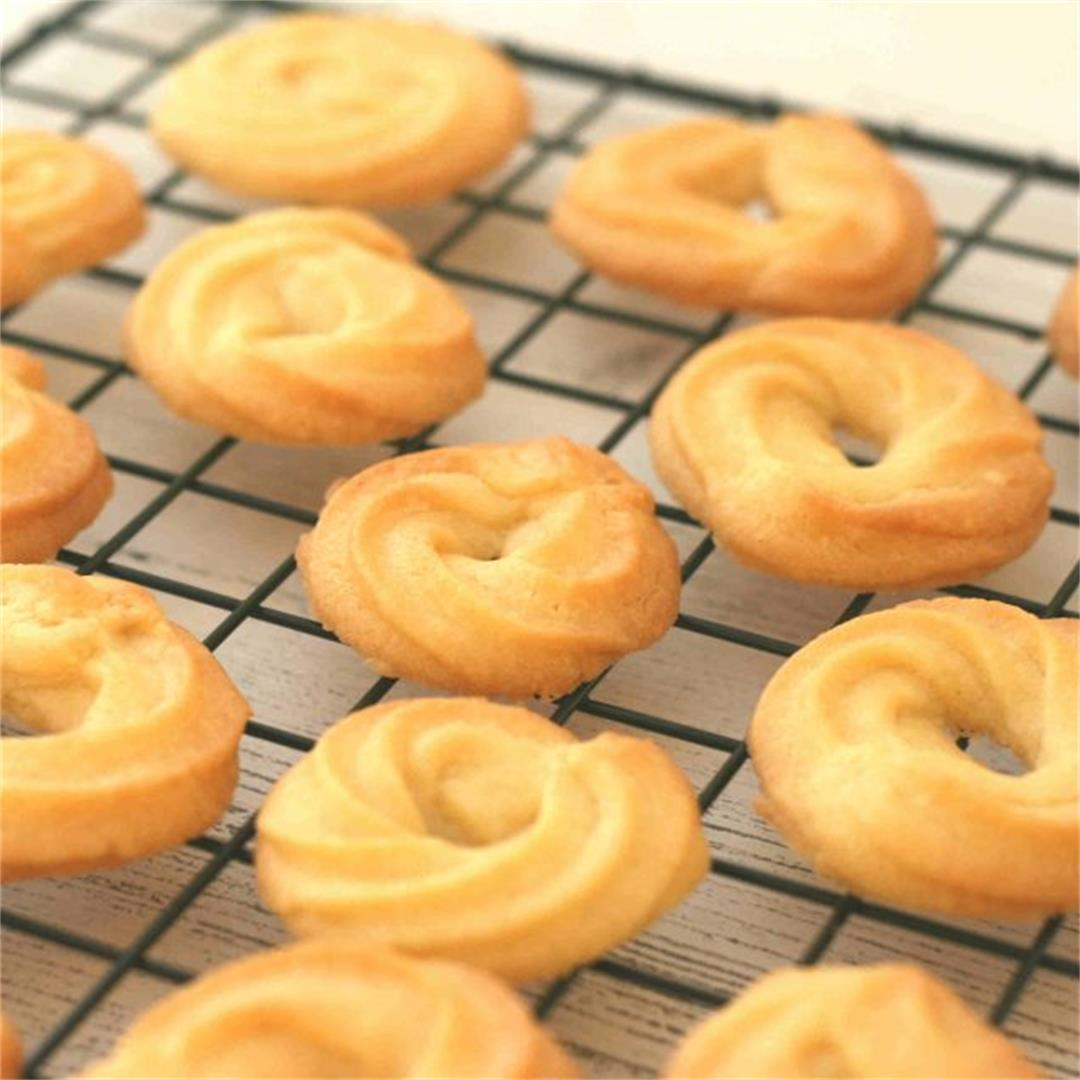 Danish butter cookies recipe