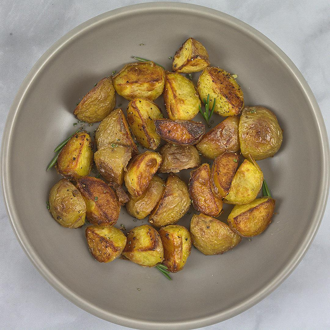Roasted Duck Fat Potatoes – A Gourmet Food Blog