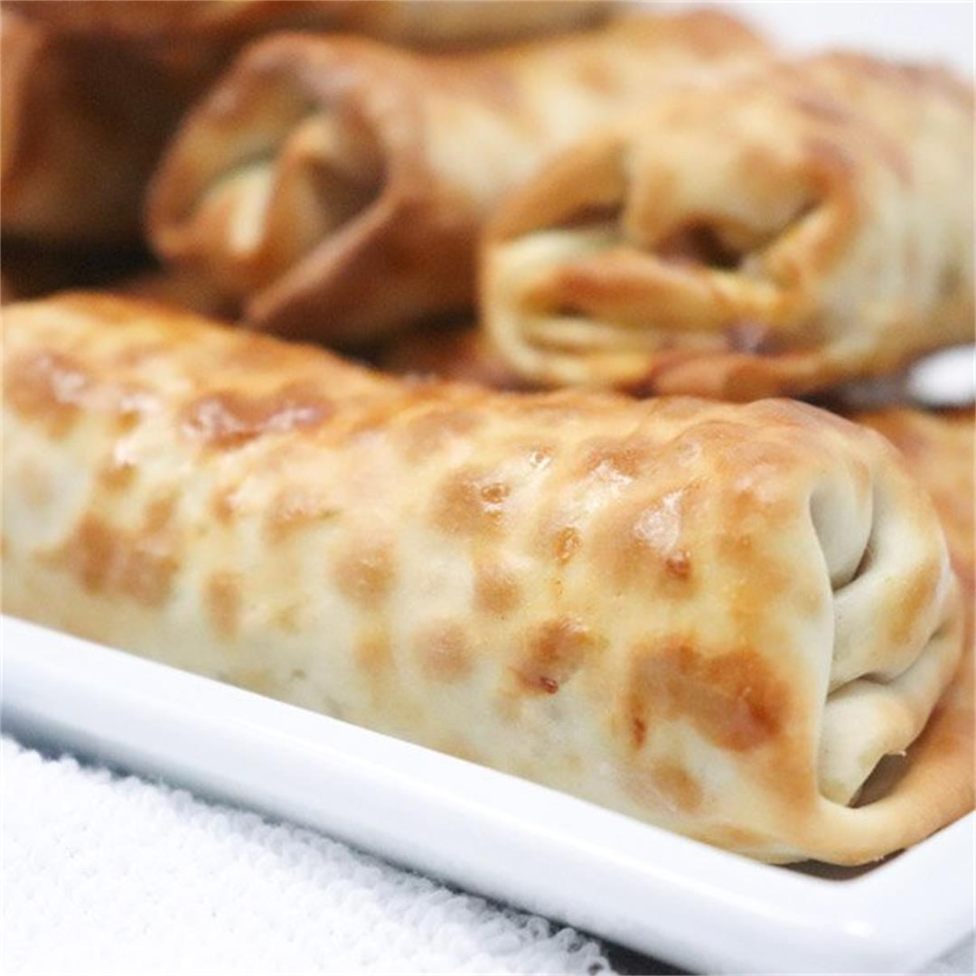 Air Fryer Crispy Pork Egg Rolls