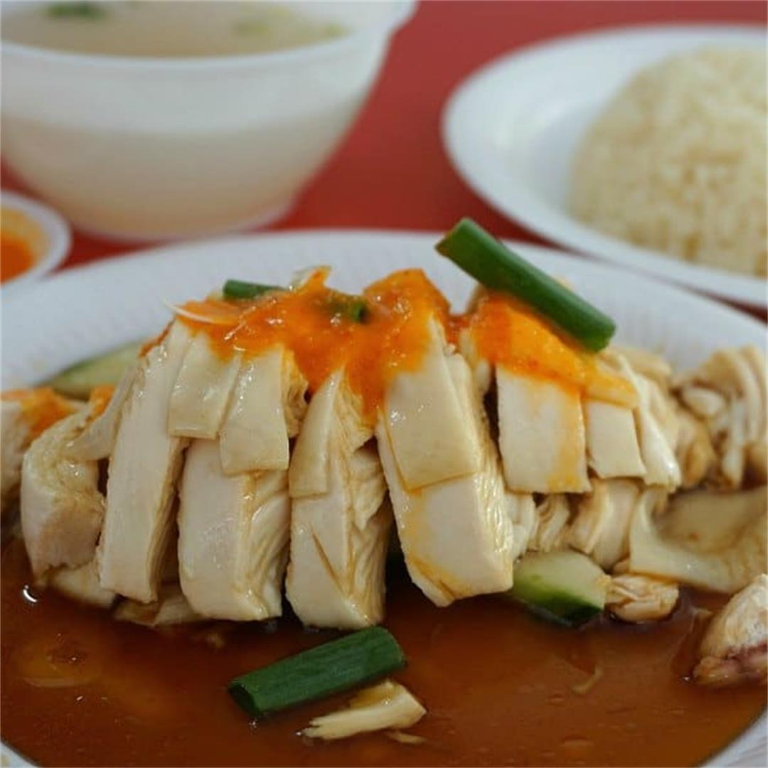 Instant Pot Hainanese Chicken and Rice