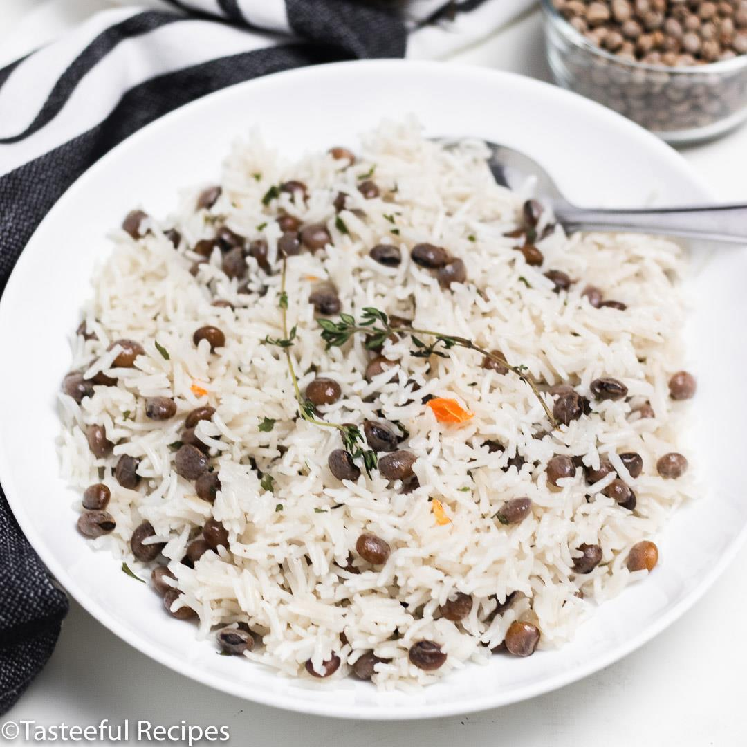 Jamaican Style Rice and Pigeon Peas
