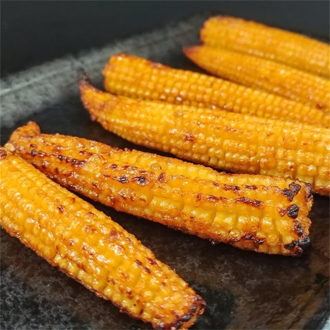 BBQ Baby Corn