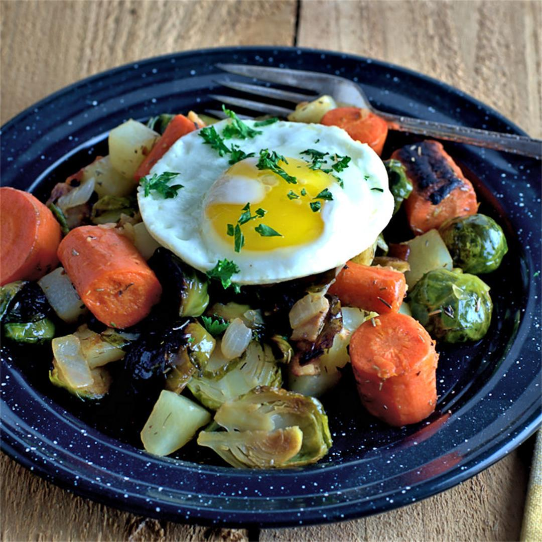 Easy Vegetable Hash