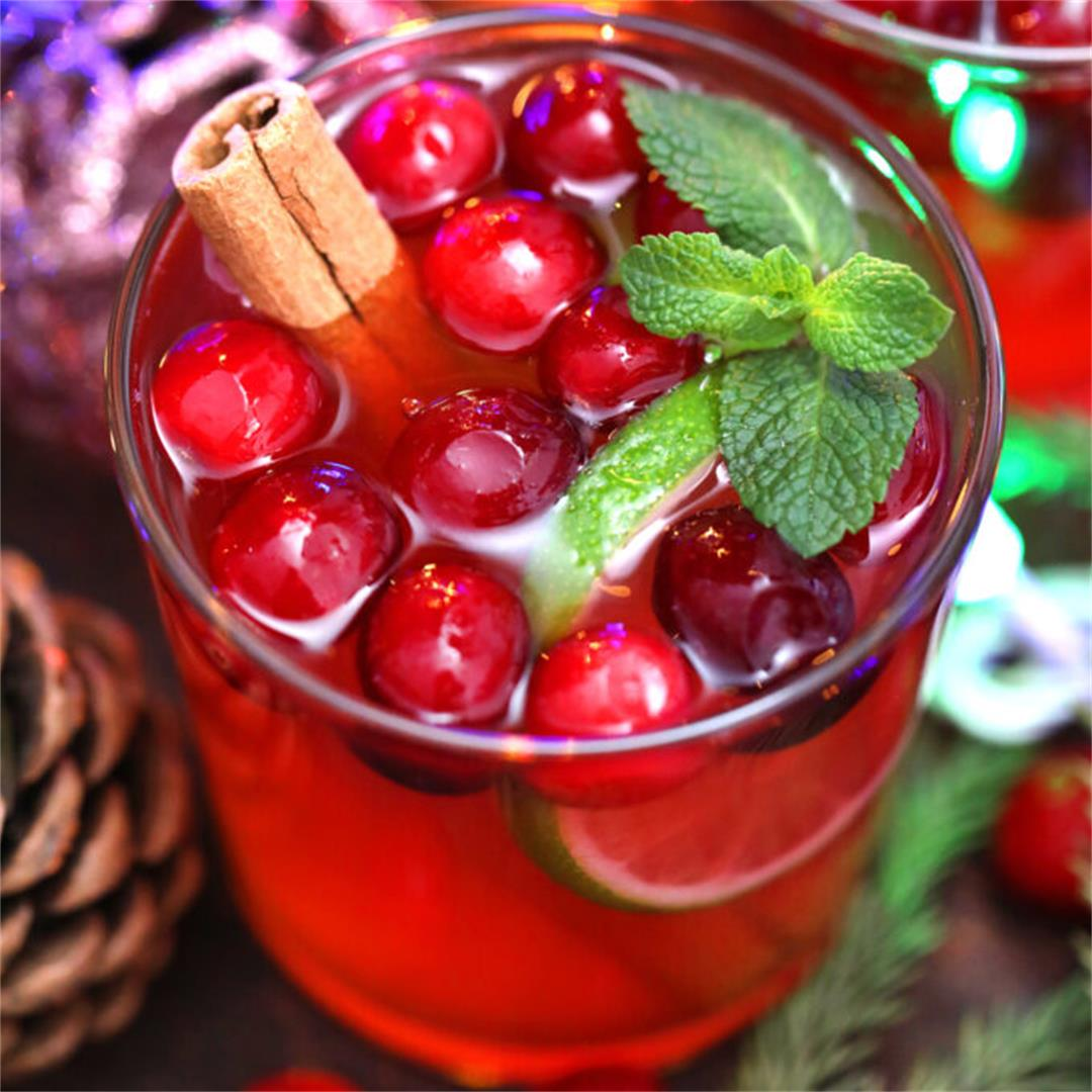 Christmas Punch Recipe (Video)
