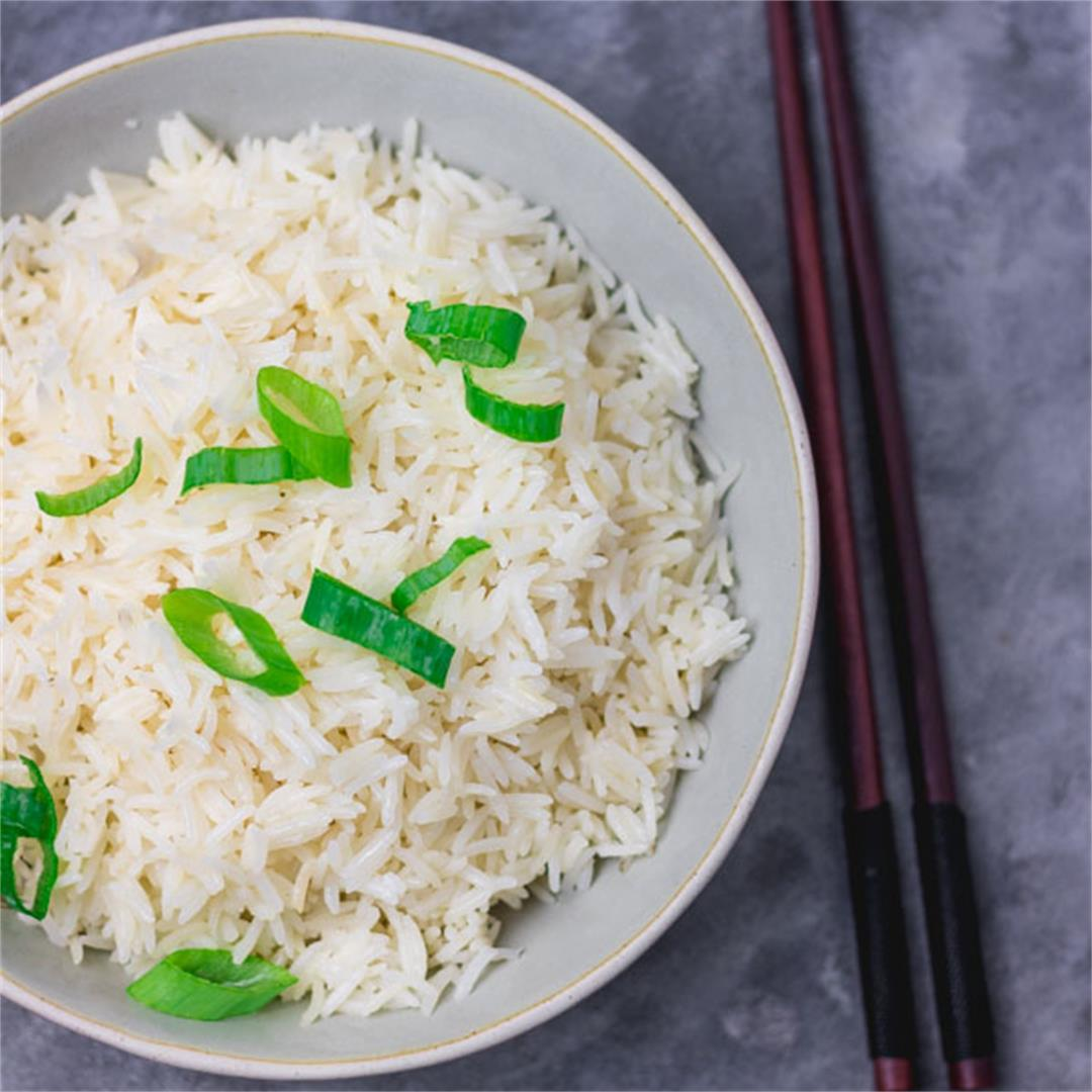Instant Pot Coconut Rice Recipe