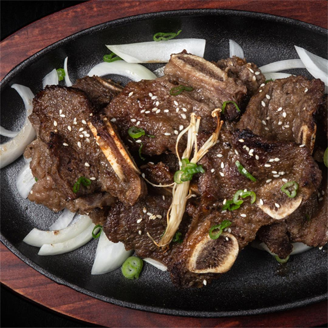 Instant Pot LA Galbi (Korean BBQ Short Ribs)