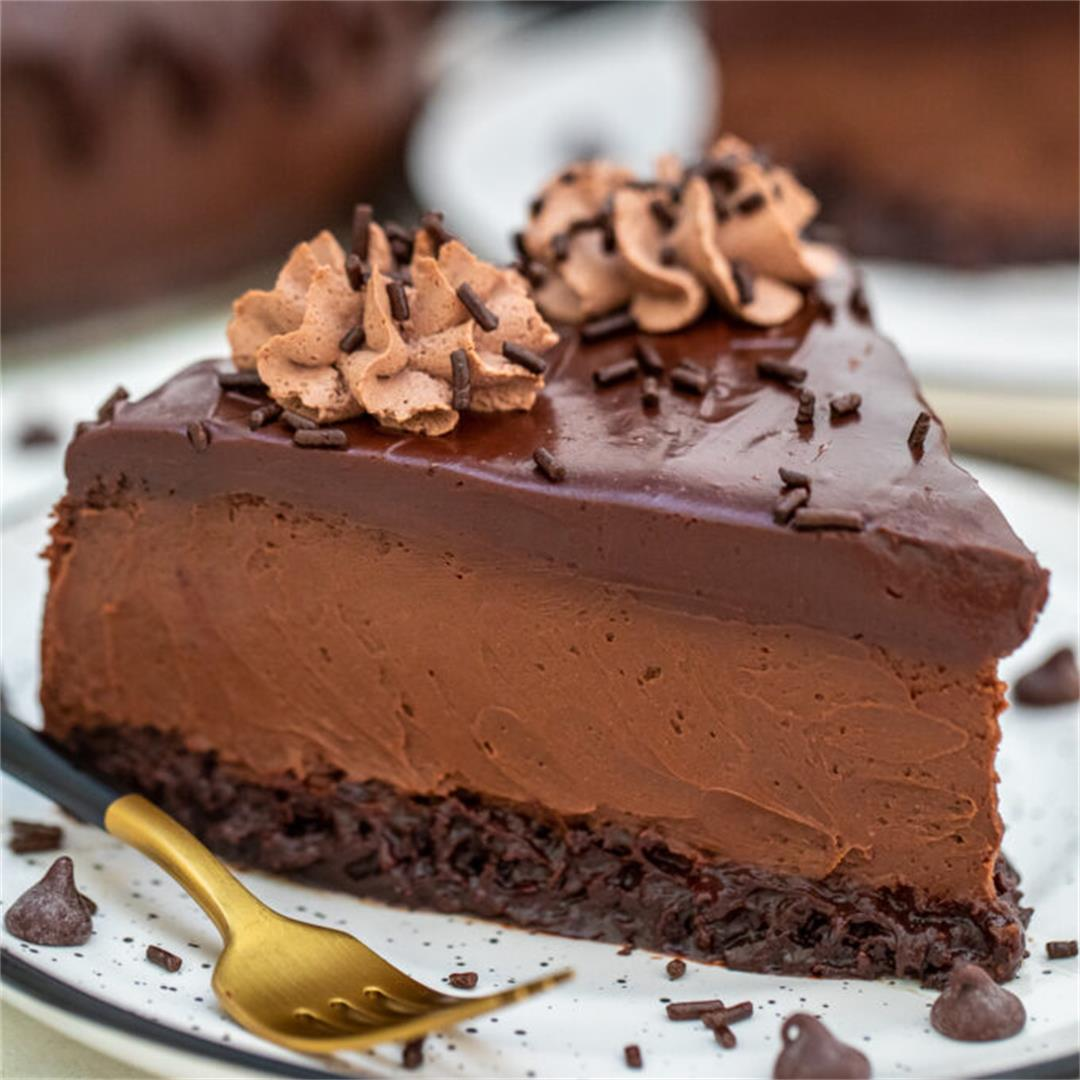 Brownie Baileys Cheesecake