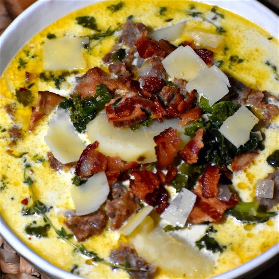 How to make Zuppa Toscana (Better than Olive Garden!)