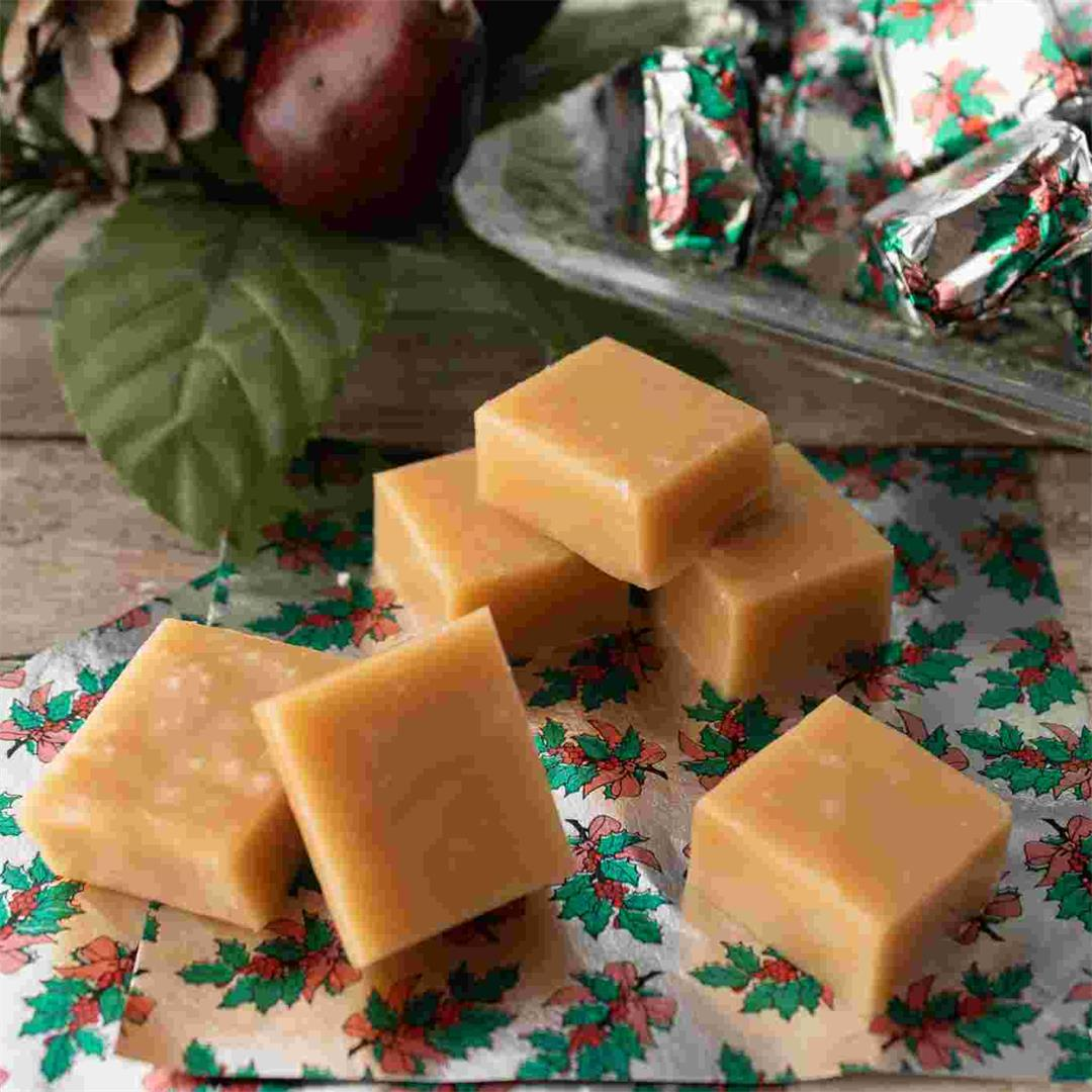 Small Batch Christmas Caramels