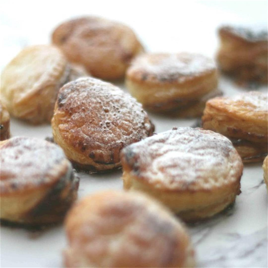 Puff pastry mince pies recipe