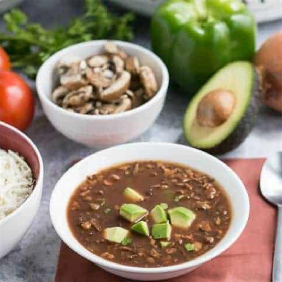 Easy Vegan Chili Slow Cooker Recipe