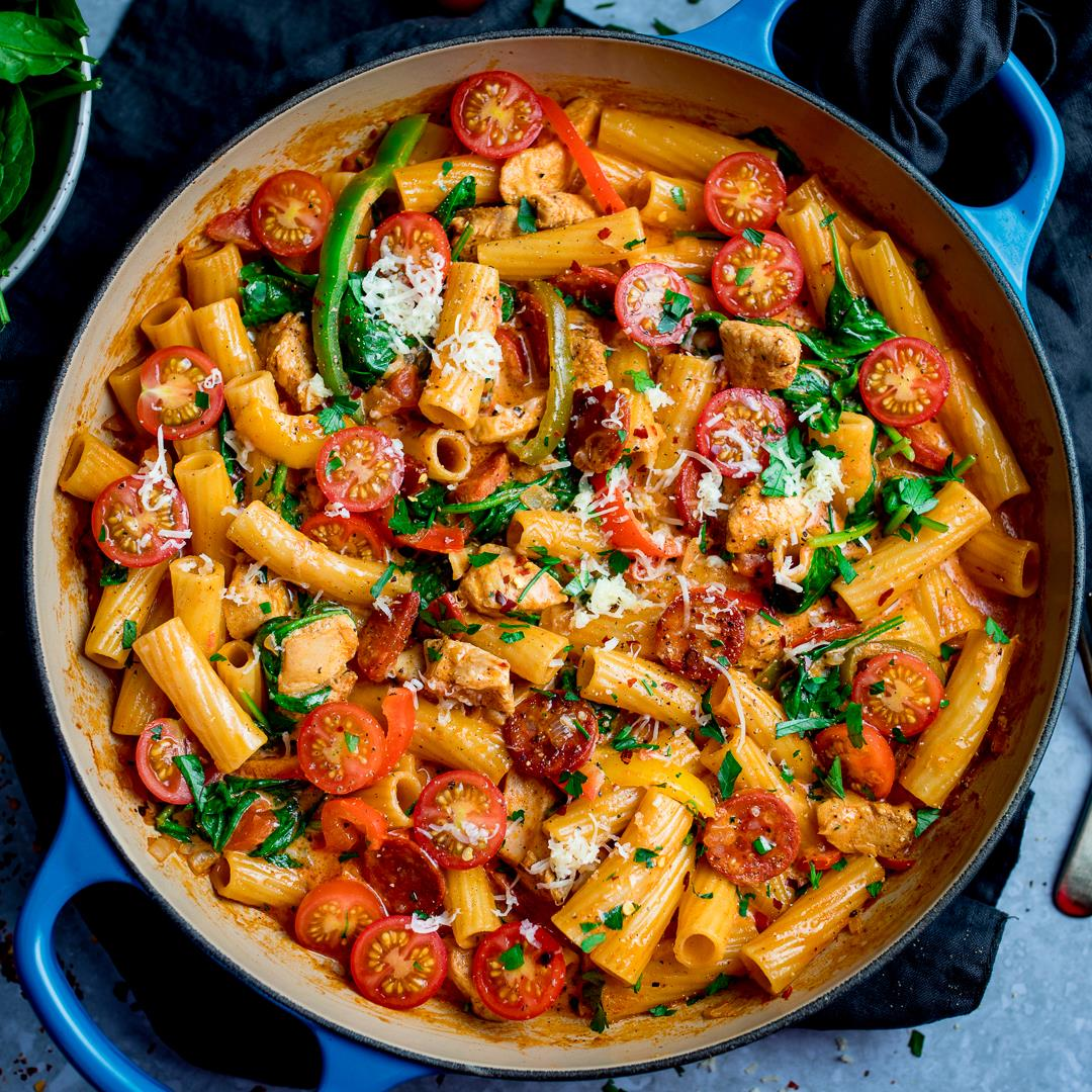 Cajun Chicken Pasta One Pot
