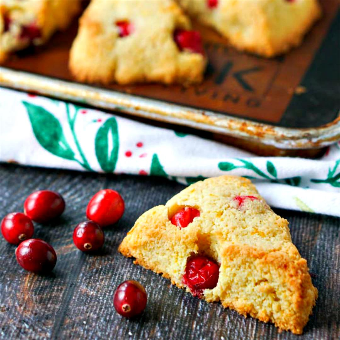 Easy Keto Cranberry Orange Scones and Great Keto Book Review!