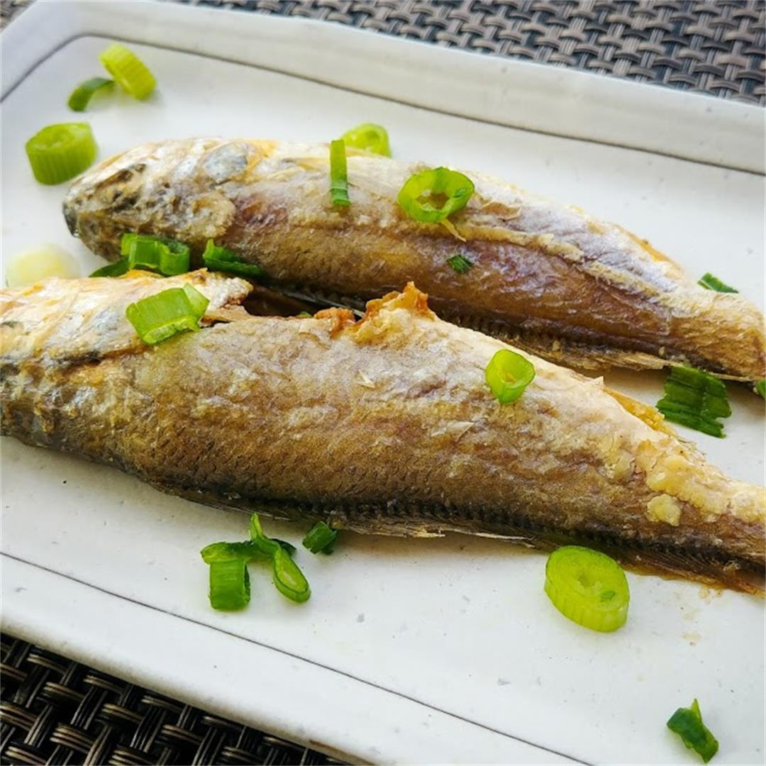 Air Fried Yellow Croaker Fish