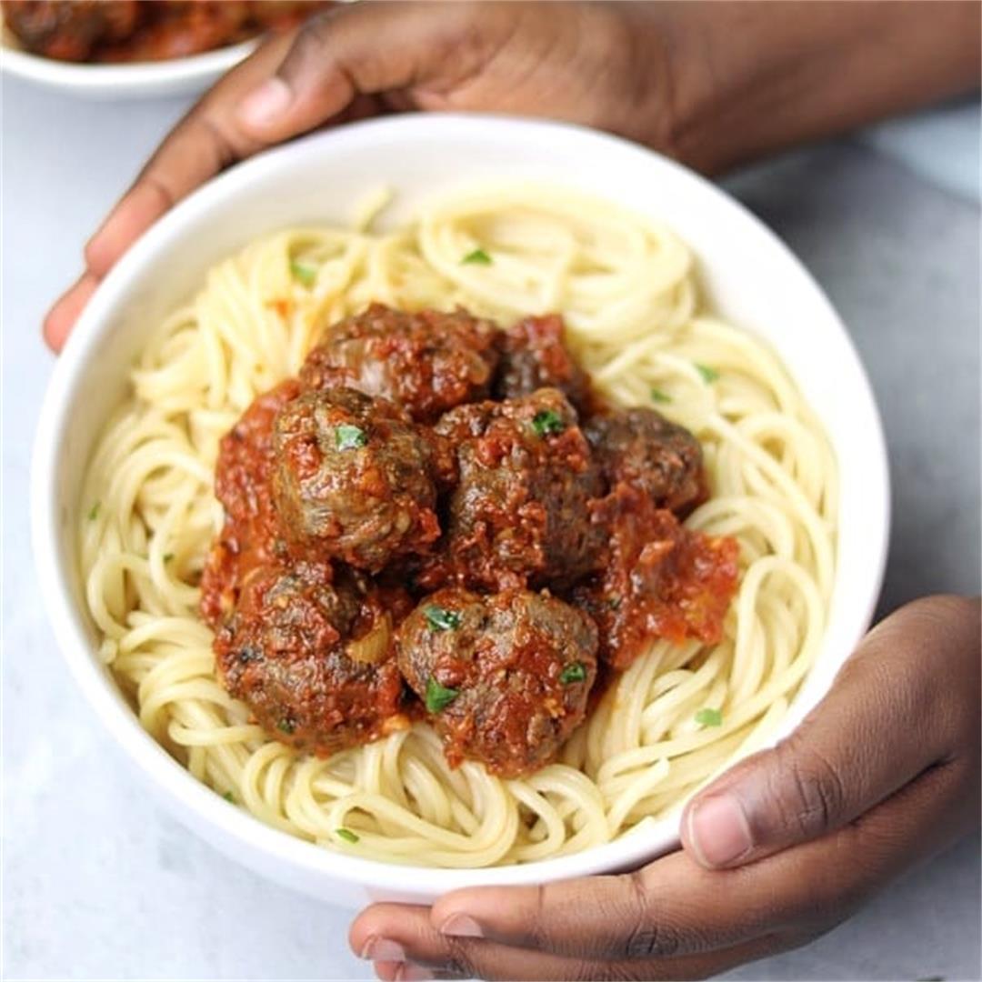 Easy Spaghetti and Meatballs