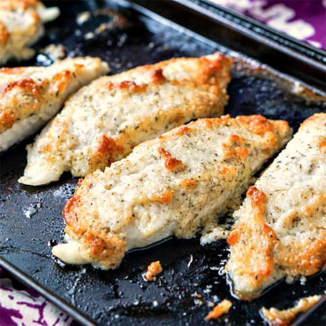 Easy Keto Baked Tilapia Recipe