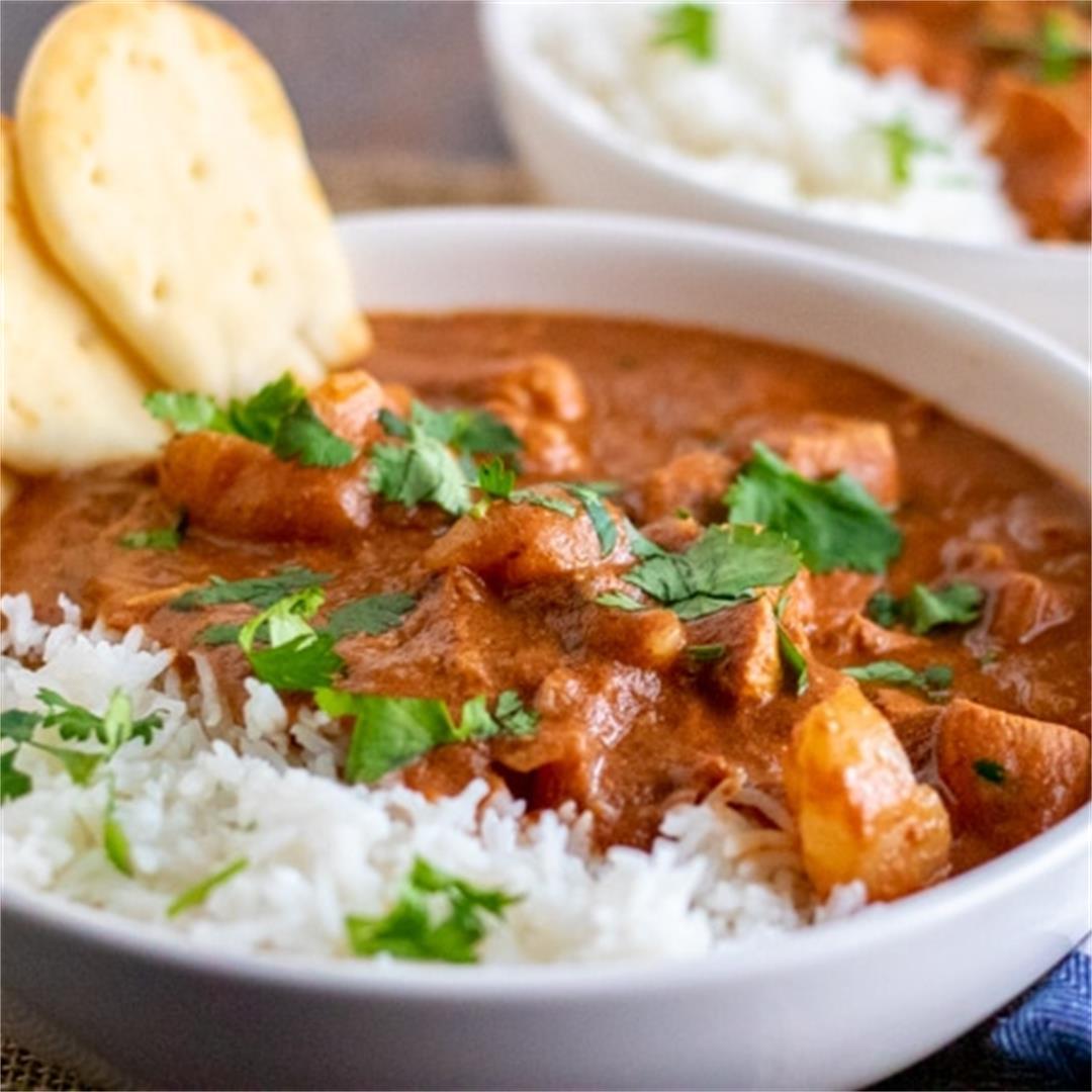 Chicken Tikka Masala (a Slow Cooker recipe)