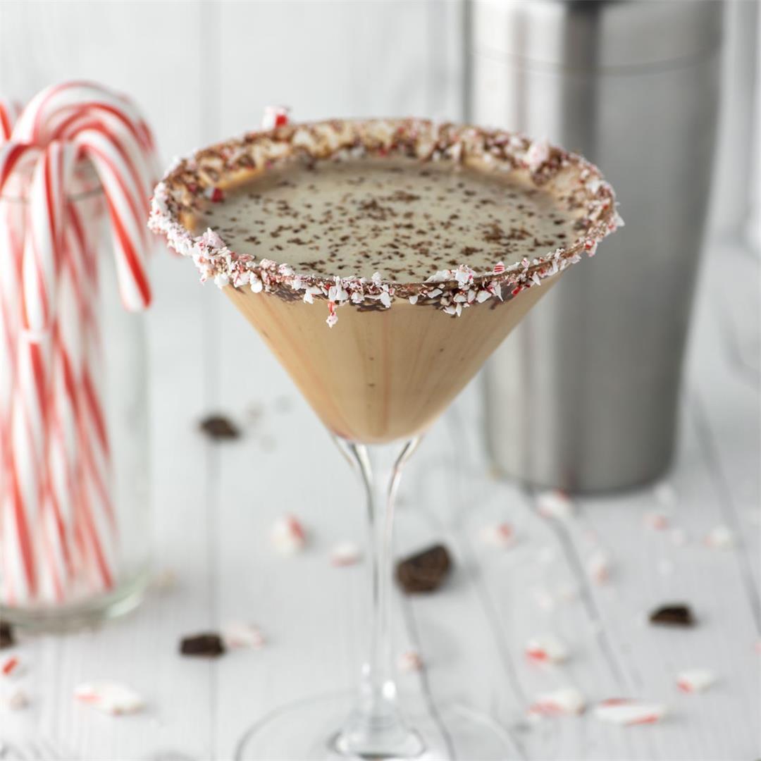 Chocolate Peppermint Martini