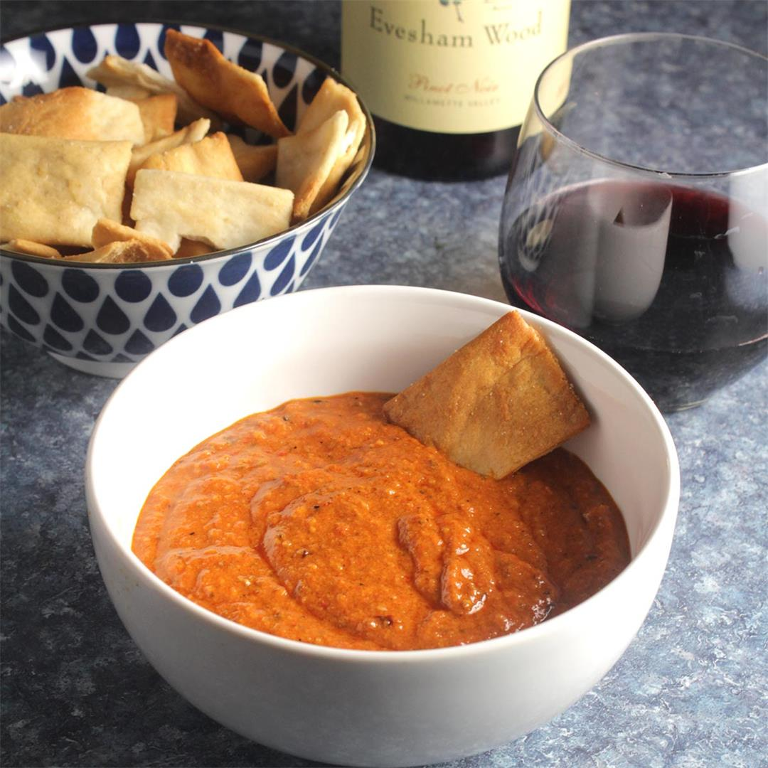 Muhammara Spicy Red Pepper Dip Recipe
