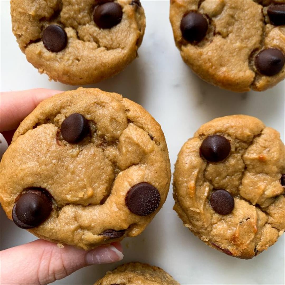 Sweet Potato Chocolate Chip Muffins