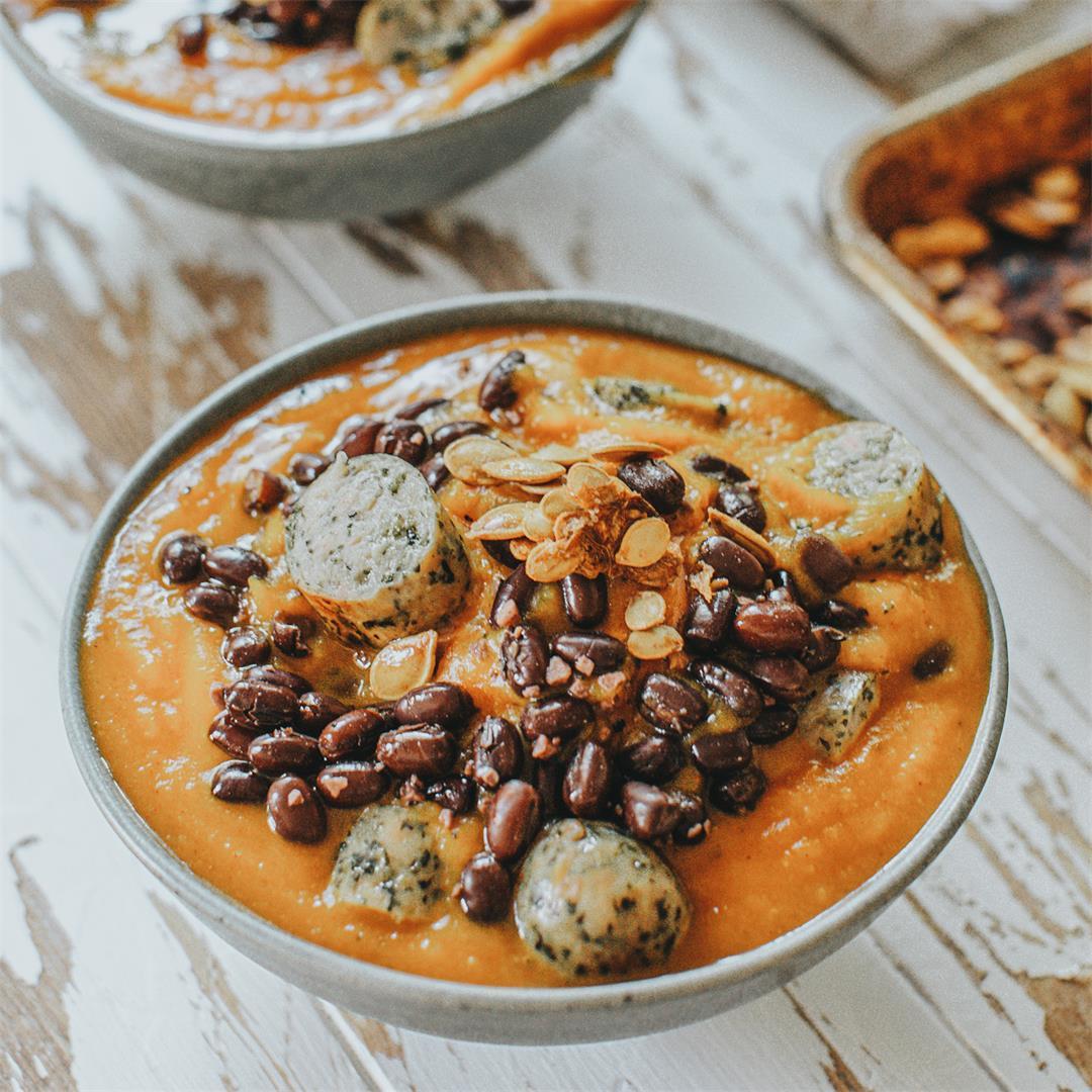 Pumkin & Bean Soup