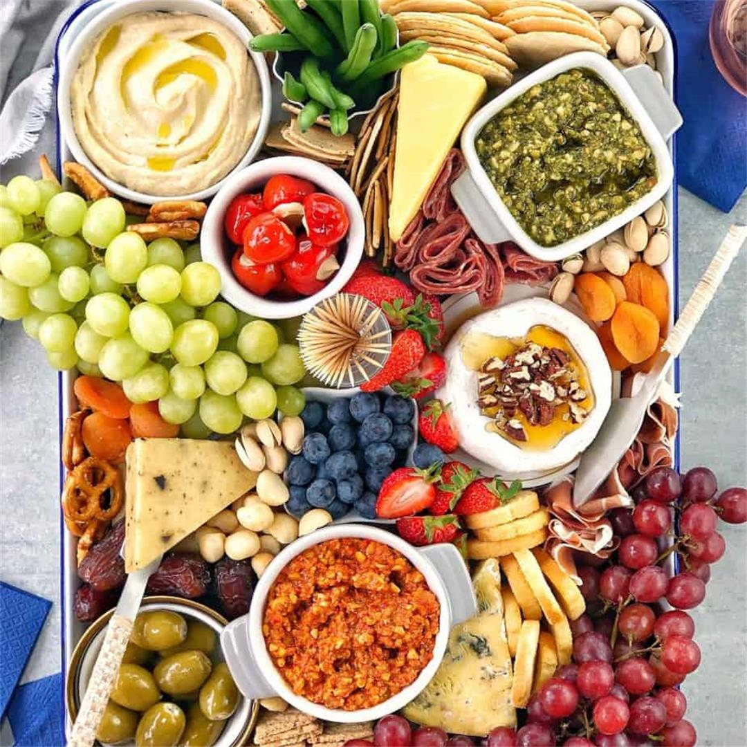 How to Make a Grazing Board - Step by Step with Recipe