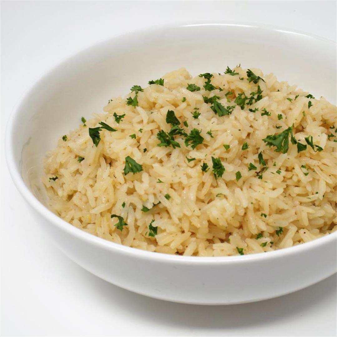 Lemon Rice Pilaf