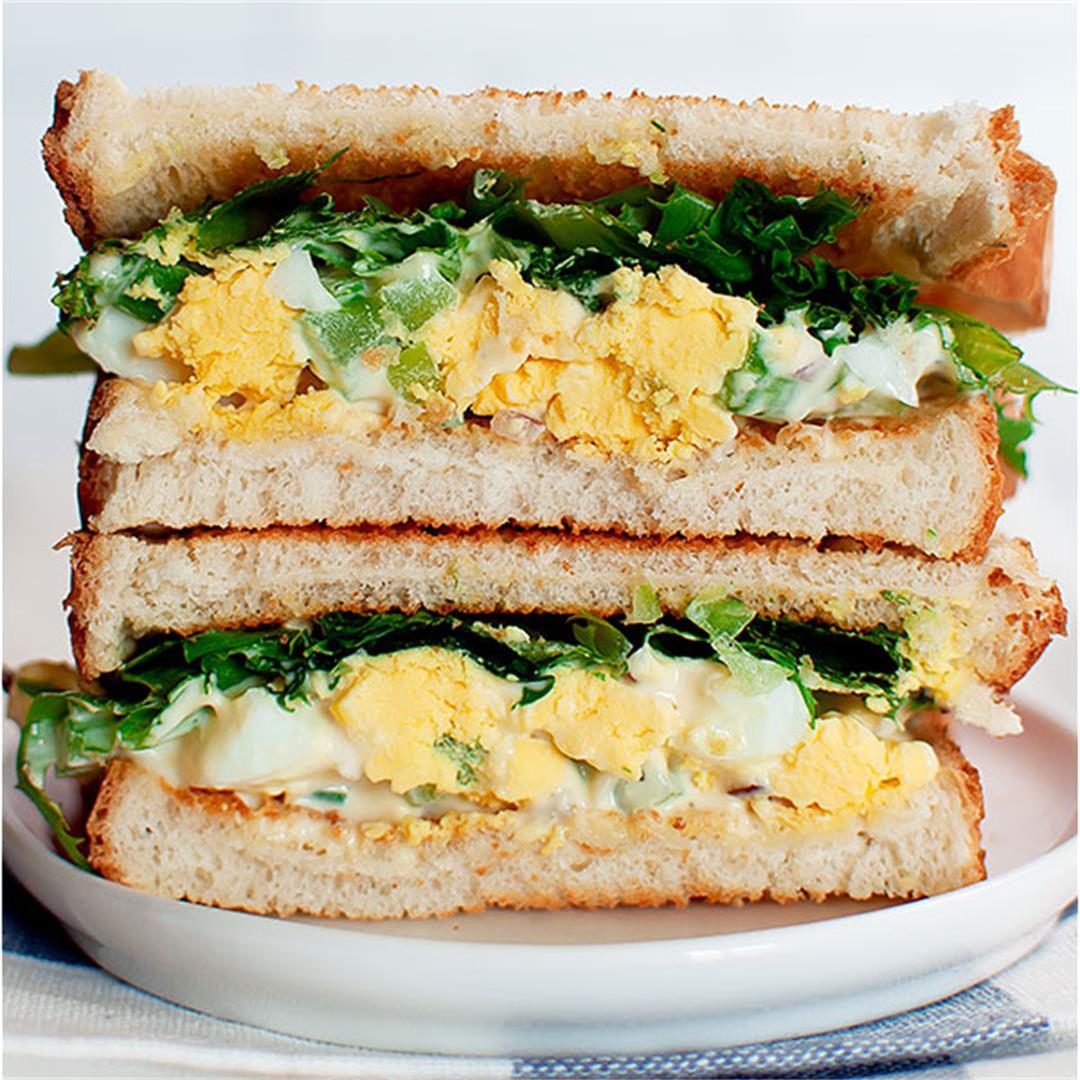 Egg Salad with Celery (Sandwiches, Wraps, Calories)