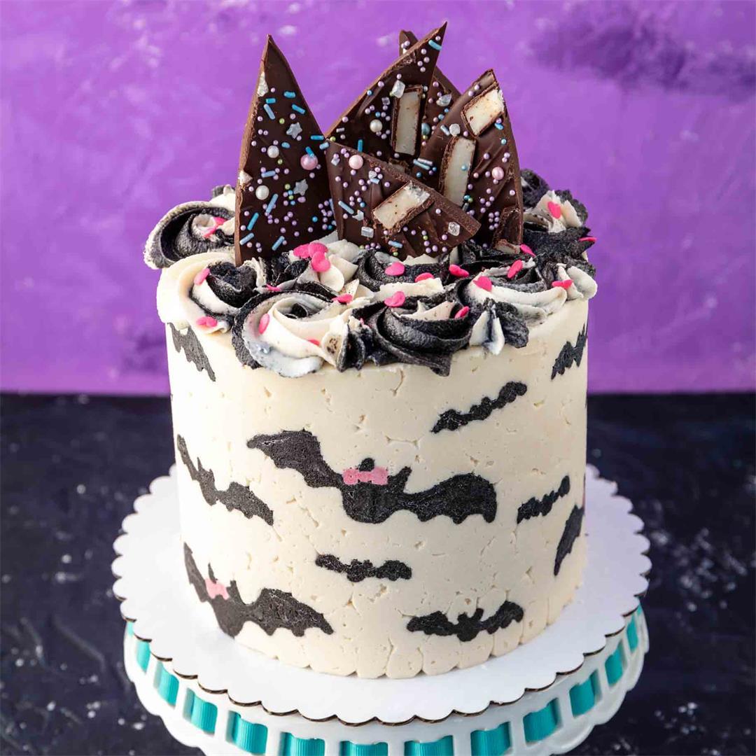 Vegan Chocolate Mint Cake