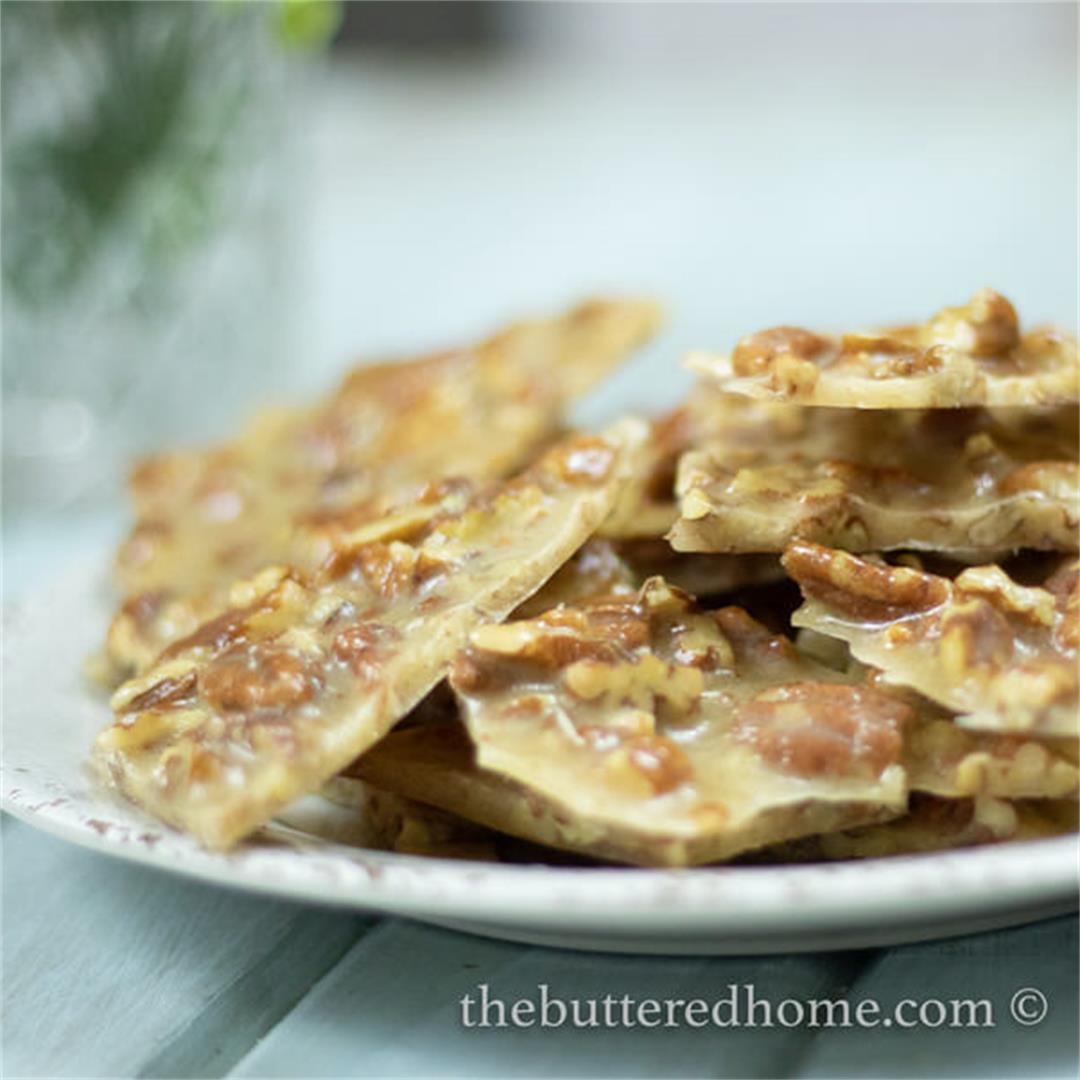 Pecan Brittle — The Buttered Home