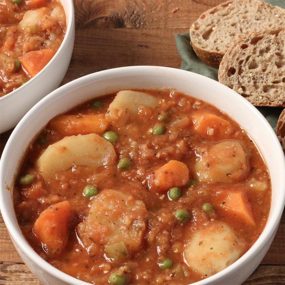 Instant Pot Vegetable Stew
