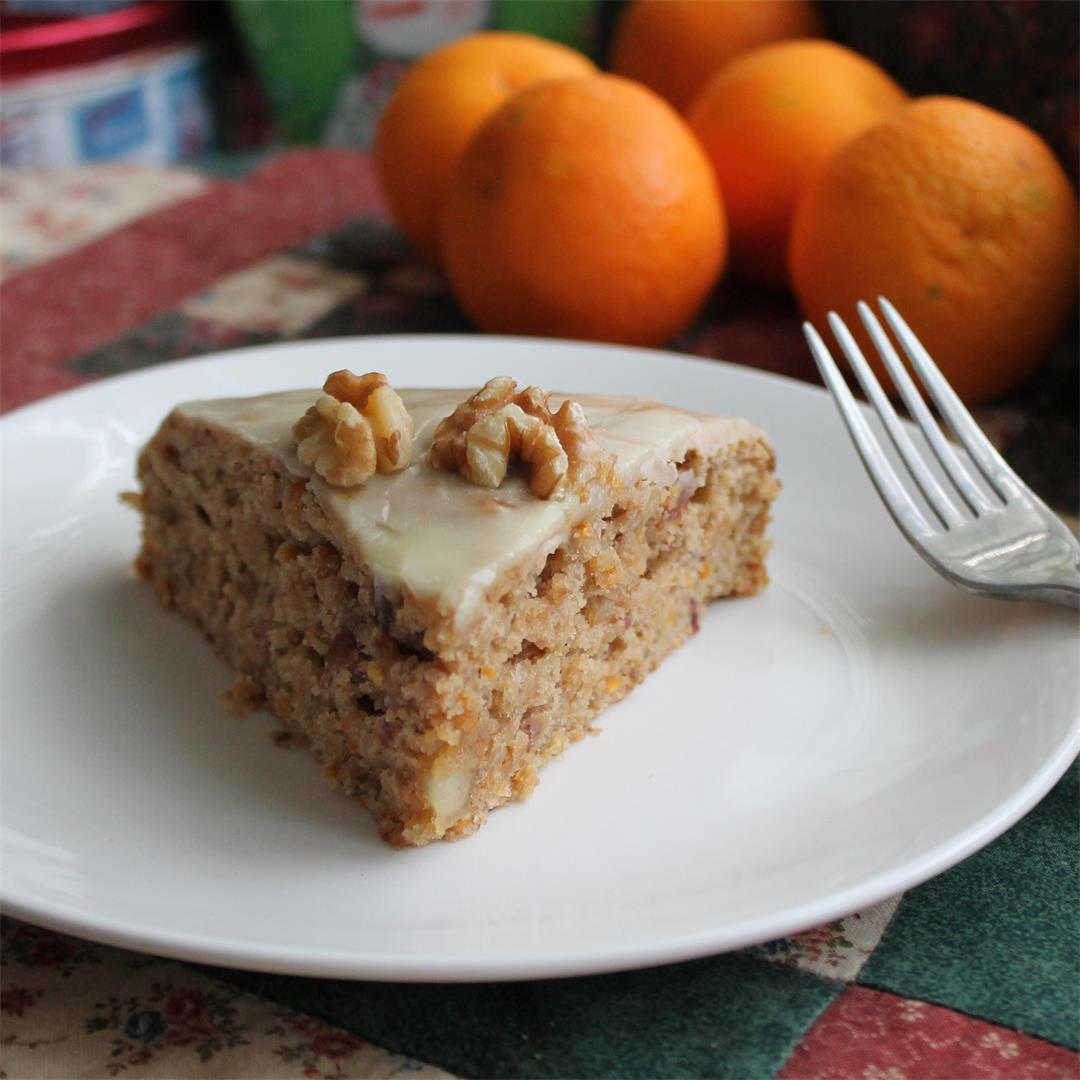 Clementine-Date Cake – My Recipe Reviews