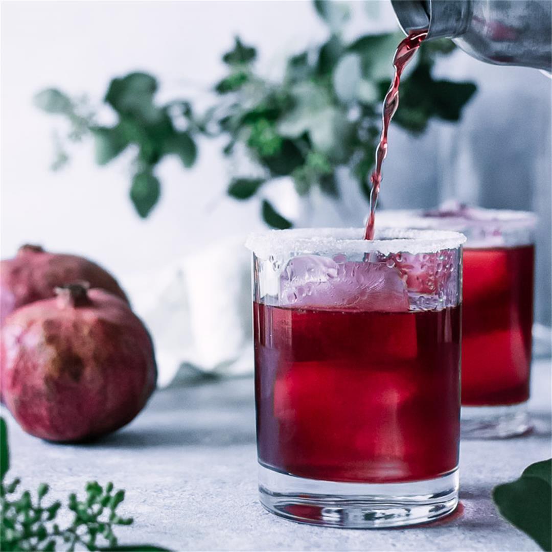 Perfect Pomegranate Margaritas Recipe