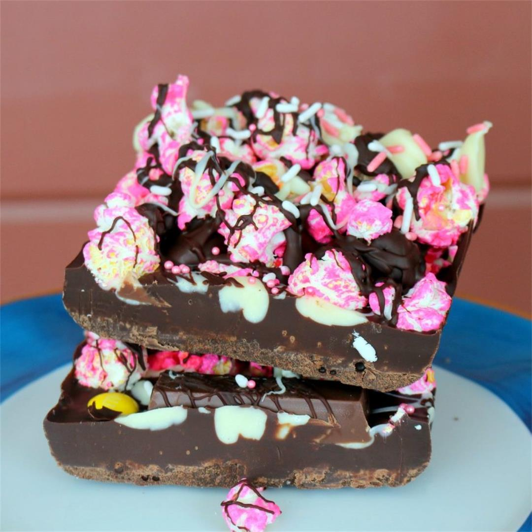 5 Star Popcorn Chocolate-Pink Life
