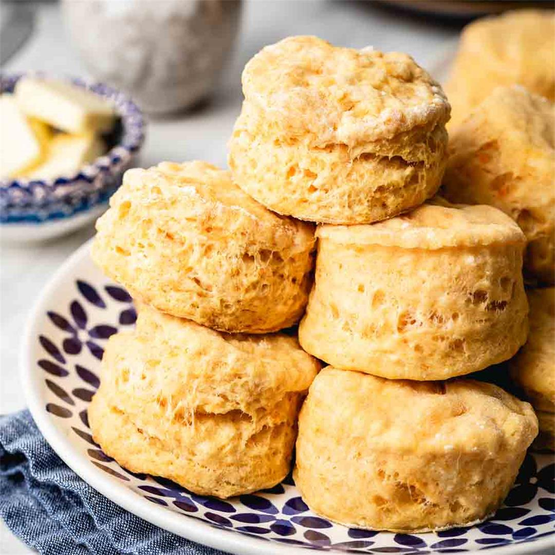 Fluffy and Tender Sweet Potato Biscuits Recipe (VIDEO)