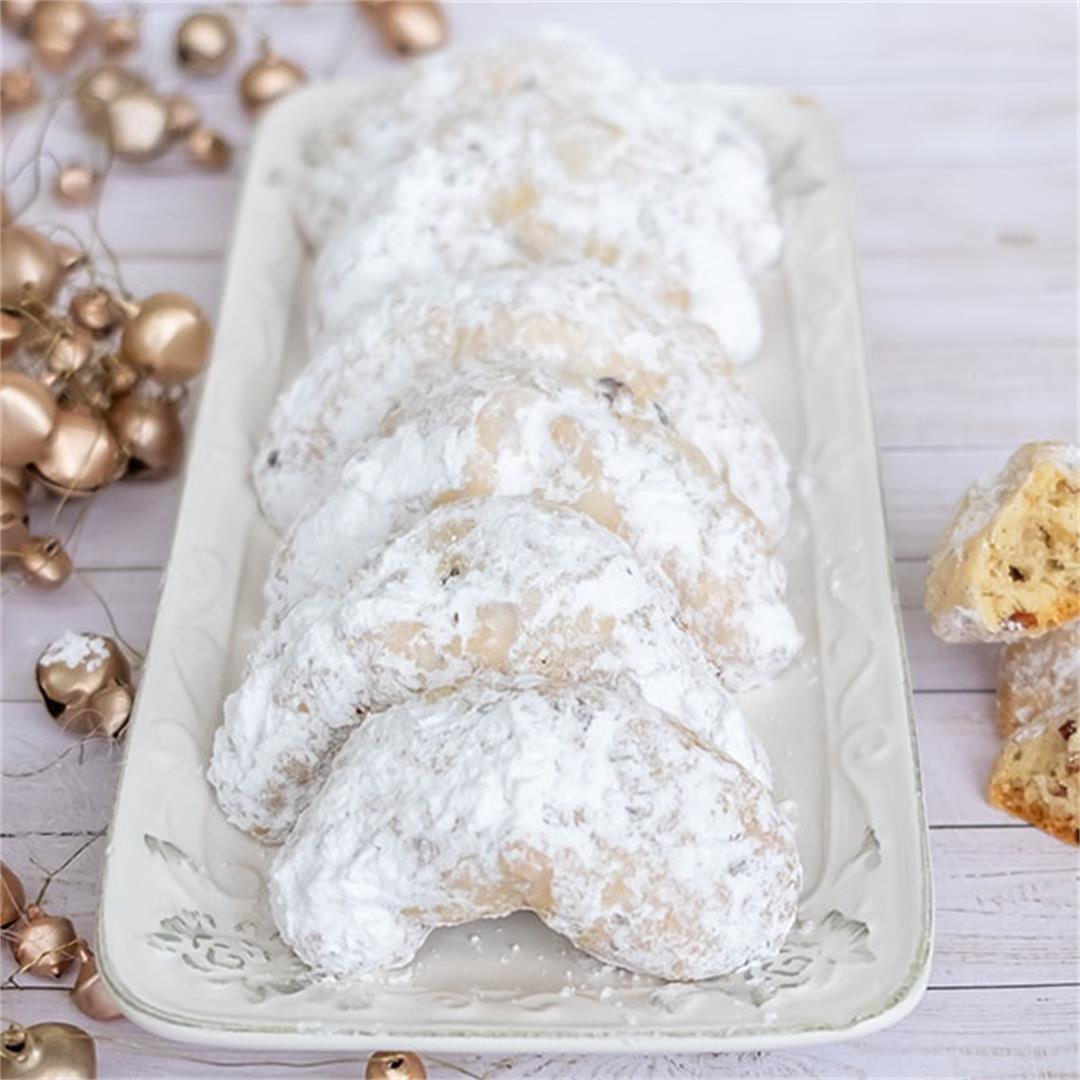 Grain-Free Crescent Cookies