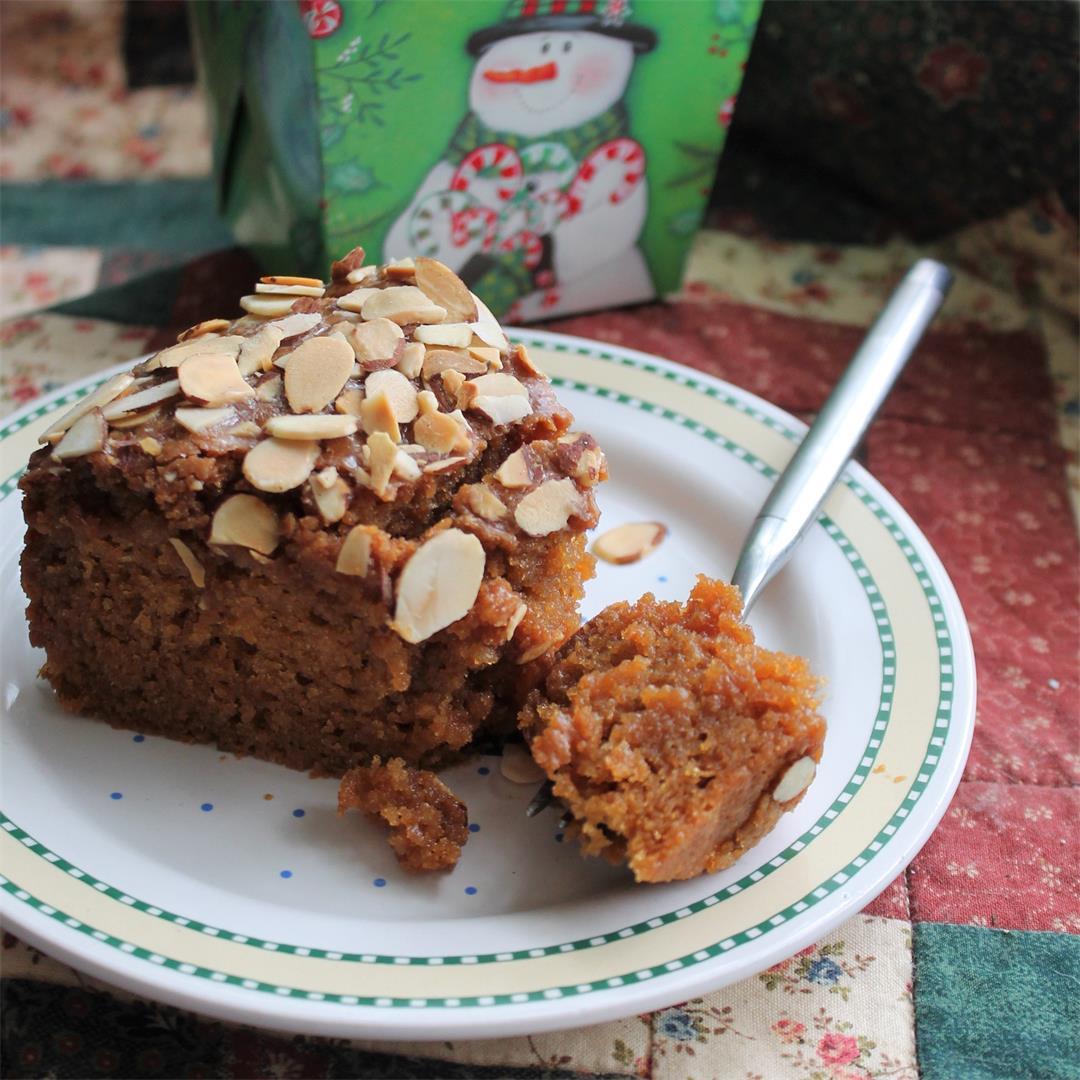 Toscakaka Torte (Swedish Sticky Caramel Almond Cake) – My Recip