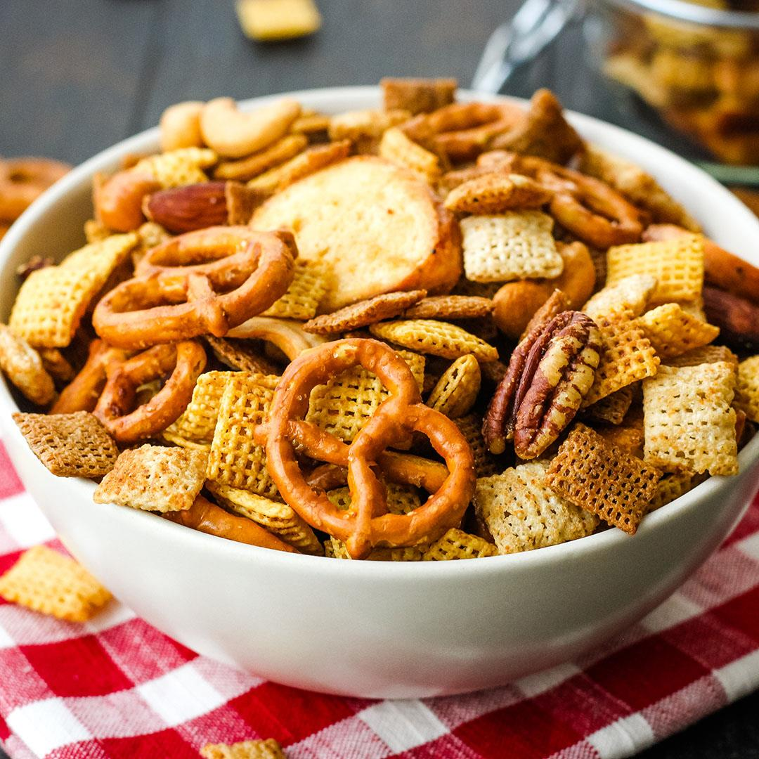 Toaster Oven Chex Mix (Small Batch Recipe)