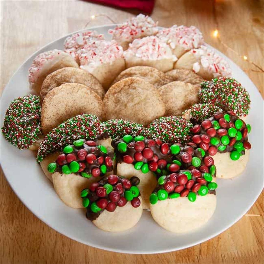 Store Bought Sugar Cookie Dough Hacks: Dipped Sugar Cookies