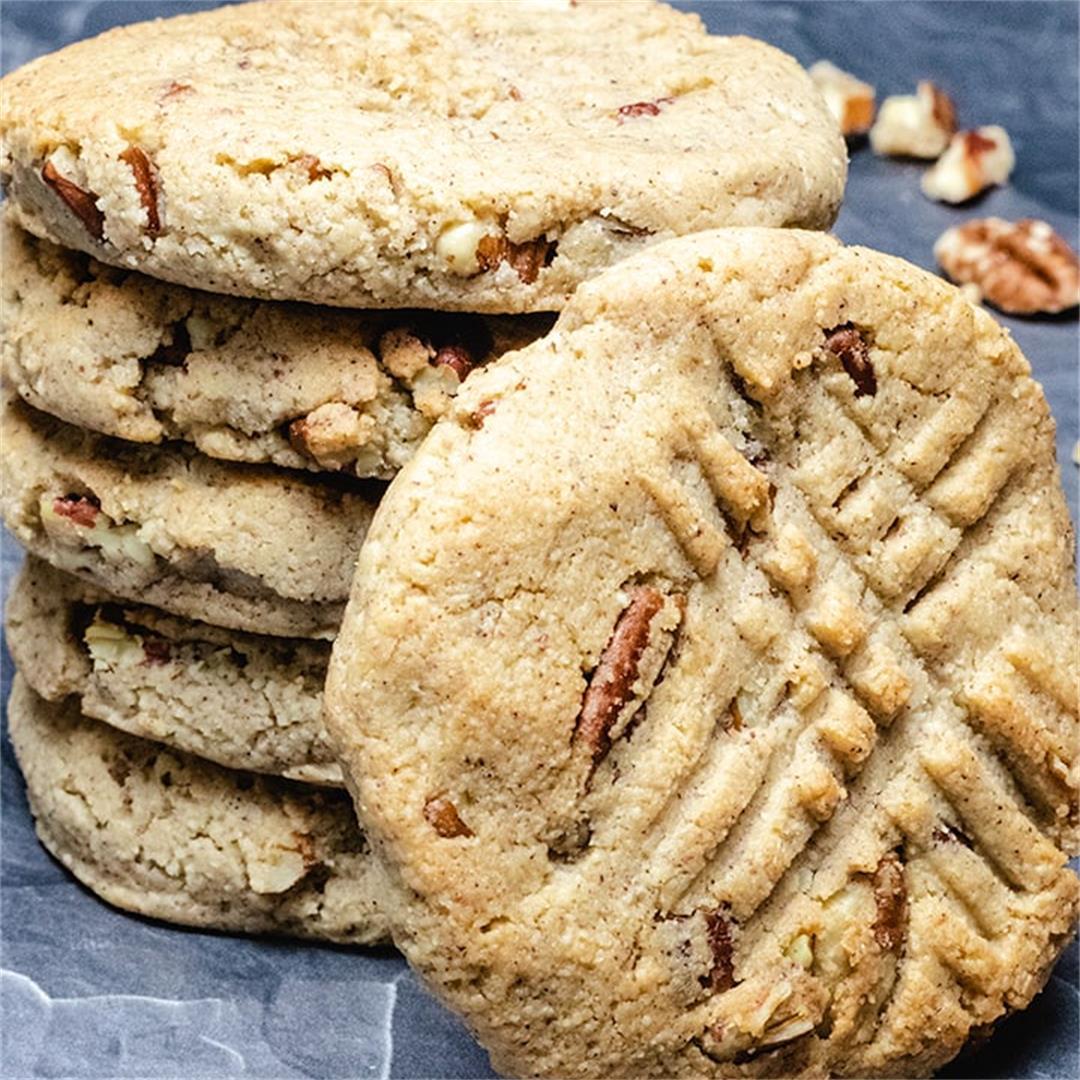 Low Carb Cinnamon Pecan Cookies