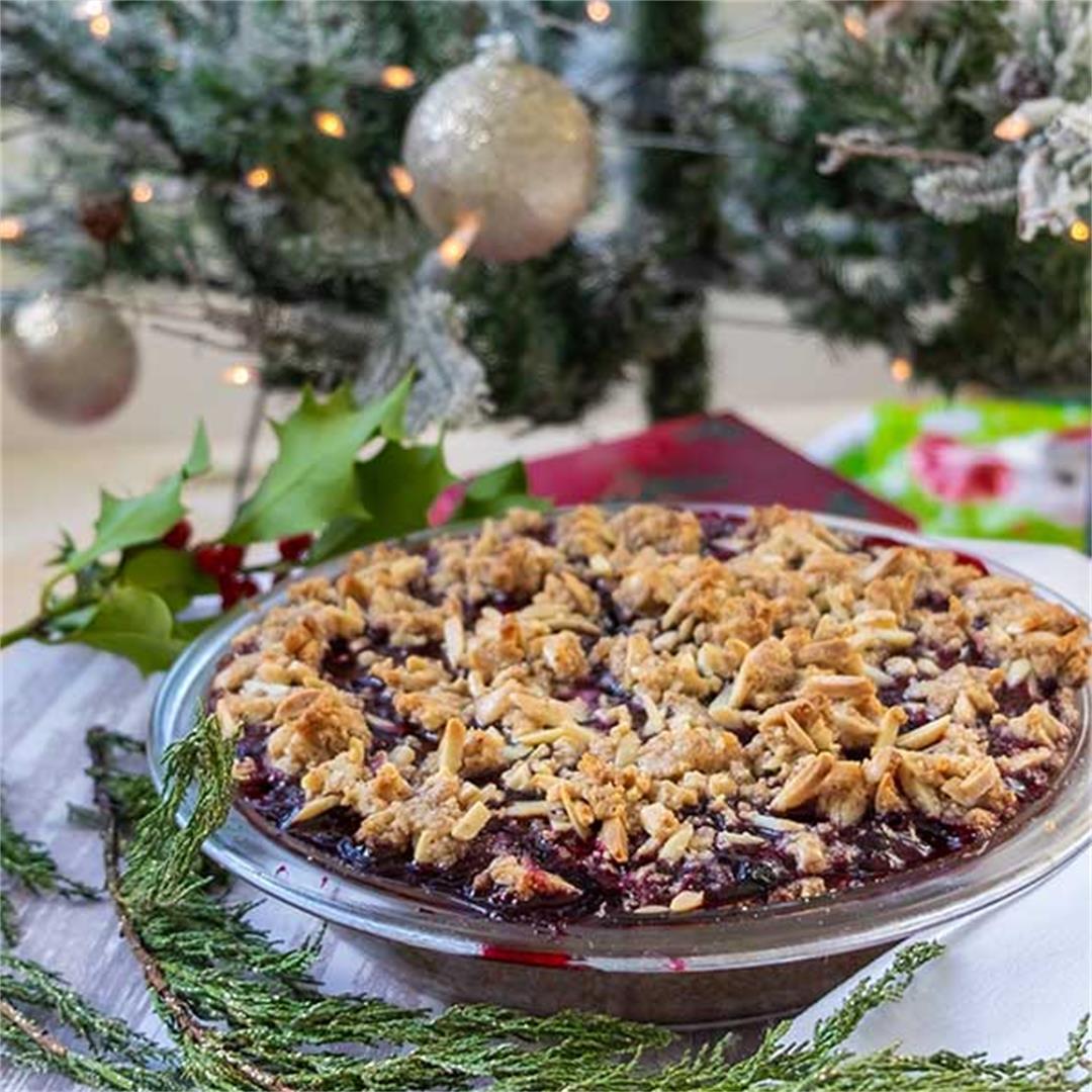 Gluten-Free Triple Berry Pie