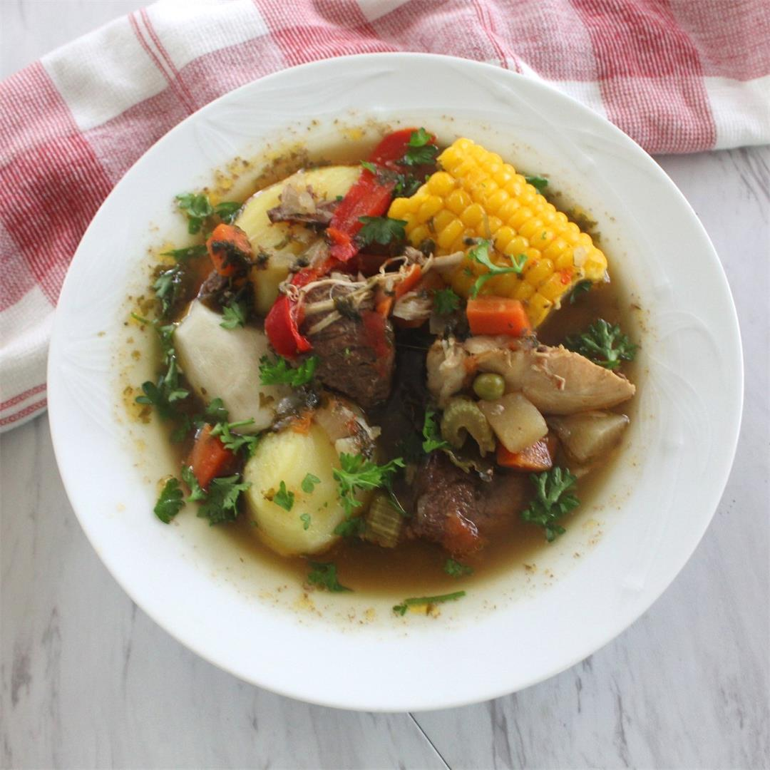 Christmas Soup Inspired by Bolivian Picana