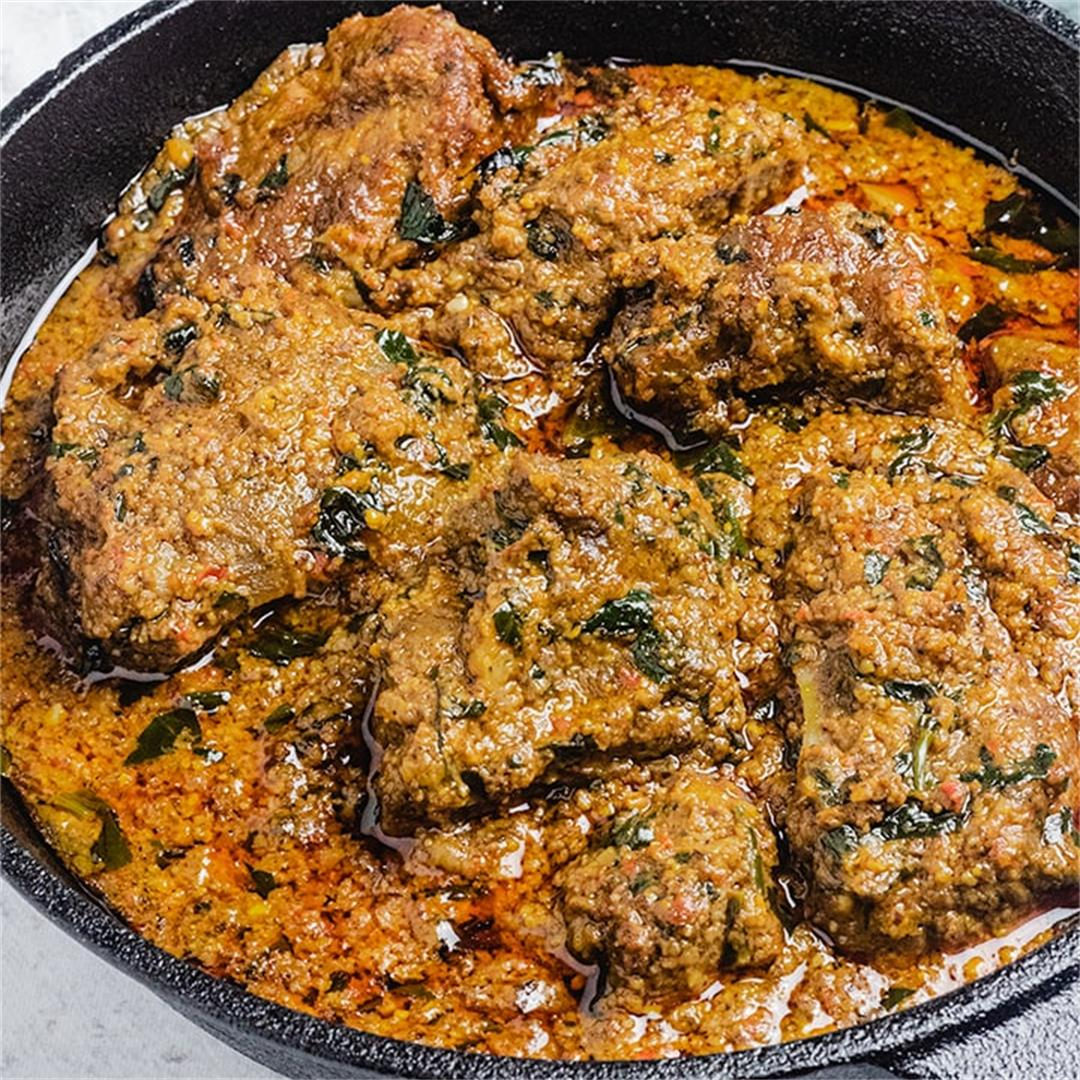 Beniseed Soup (African Sesame Seed Stew)